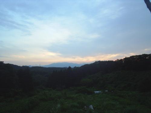 石森山からの蔵王山~Mt. Zao from Ishimori Mountain